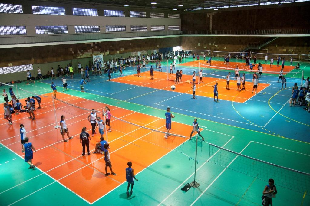 Festival de Encerramento dos Núcleos Rio/RJ reúne 400 meninos e meninas do projeto Vôlei em Rede, Núcleos Rio/RJ.