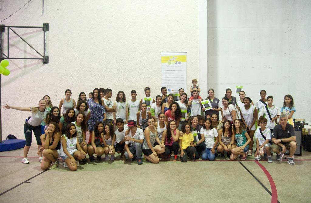 Grande festa marca descontinuação do projeto Esporte em Ação no Rio de Janeiro.